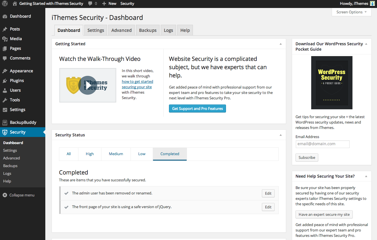 dashboard_ithemes_security