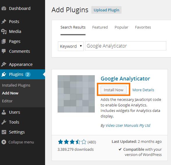 install_google_analyticator